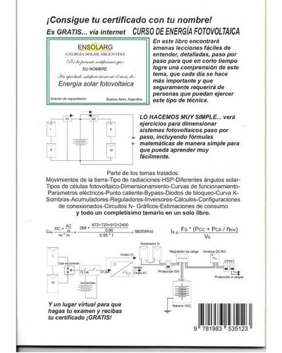 manual energía solar fotovoltaica