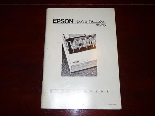 manual epson action printer 2000 original