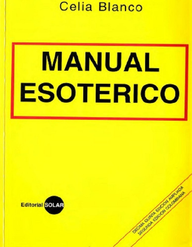manual esoterico por celia blanco ebook pdf