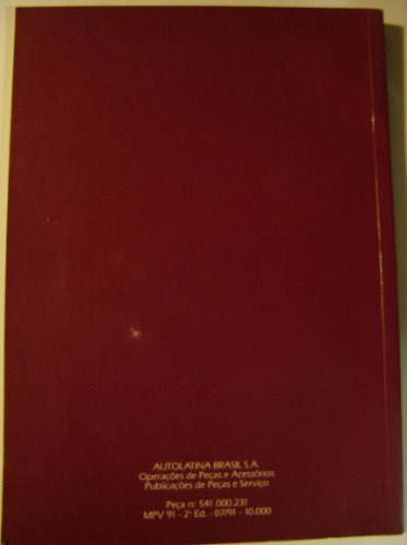 manual ford verona 1991 conservado