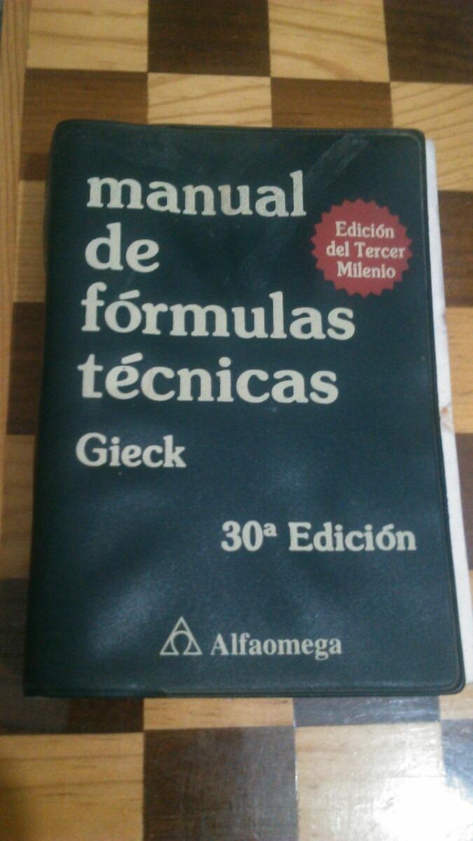 GIECK DE BAIXAR TECNICAS MANUAL FORMULAS
