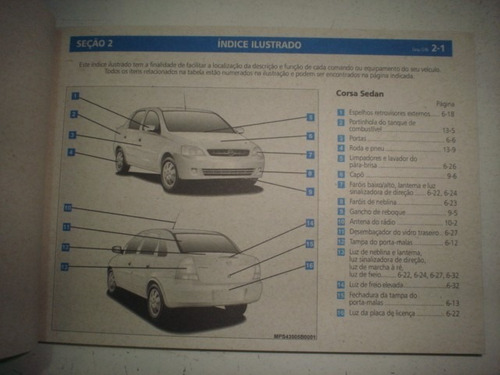 manual gm corsa 2008 2009 hatch sedan original chevrolet 8v