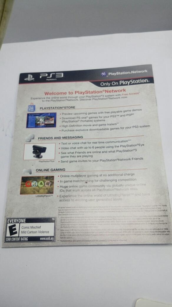 Manual god of war 3 playstation 3 somente o encarte r 2447 em carregando zoom stopboris Choice Image