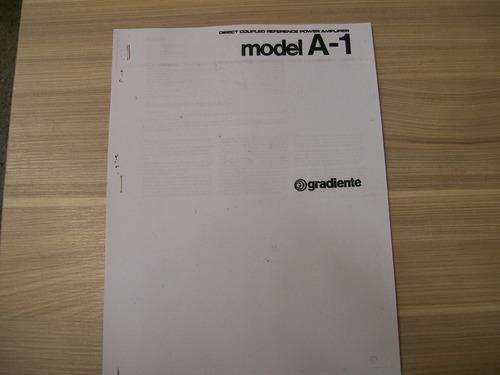 manual gradiente amplificador a-1 cópia