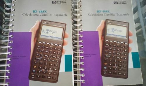 manual guía de usuario de la calculadora hp 48sx