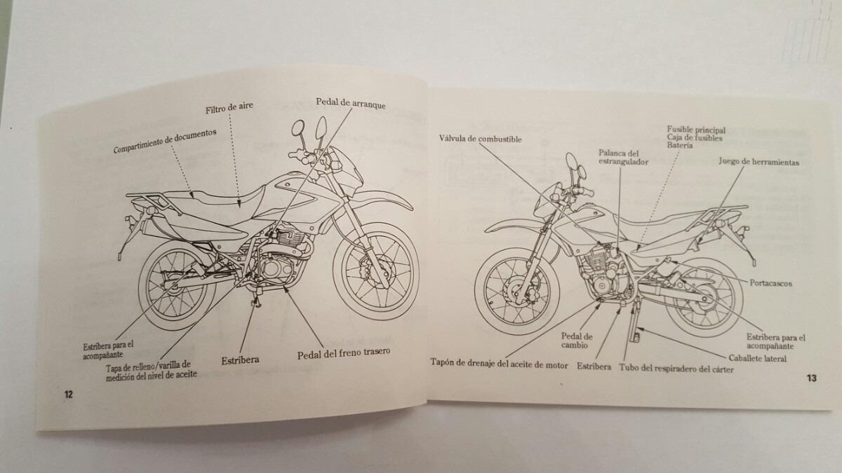 Honda xr 125 l manual.