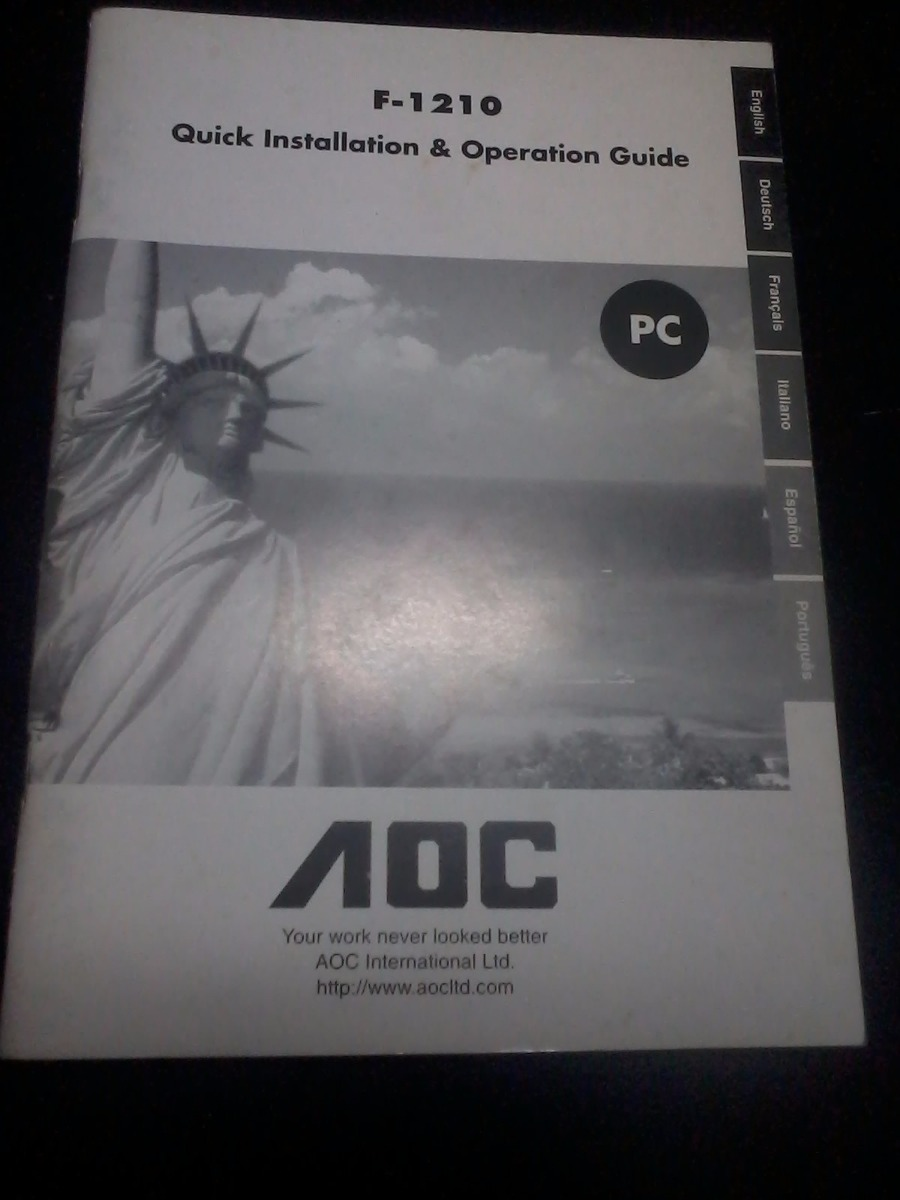 Download Driver: AOC F1210 Scanner