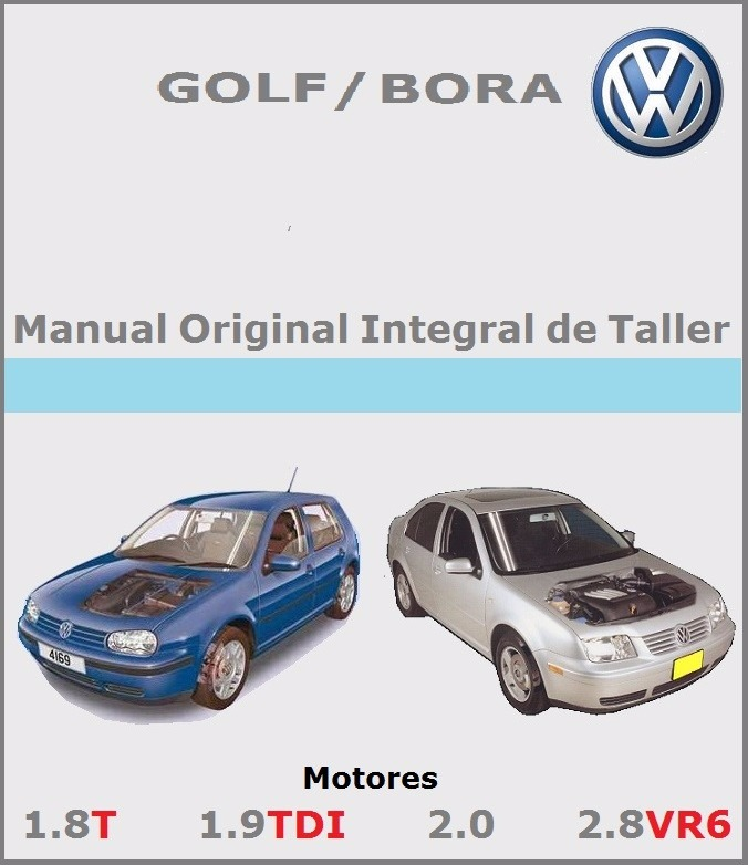 manual integral de taller vw bora golf a o 99 al 2005 290 00 rh articulo mercadolibre com ar vw bora manual boot release vw bora manual pdf download
