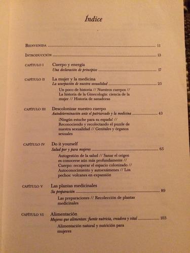 manual introductorio a la ginecología natural - envío gratis