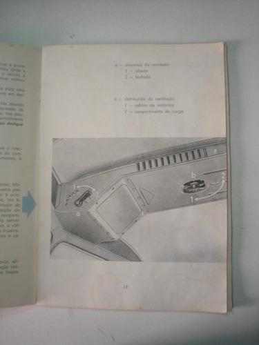 manual kombi 1962 1963 vw volkswagen furgão perua camioneta