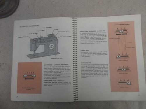 manual maquina de costura singer