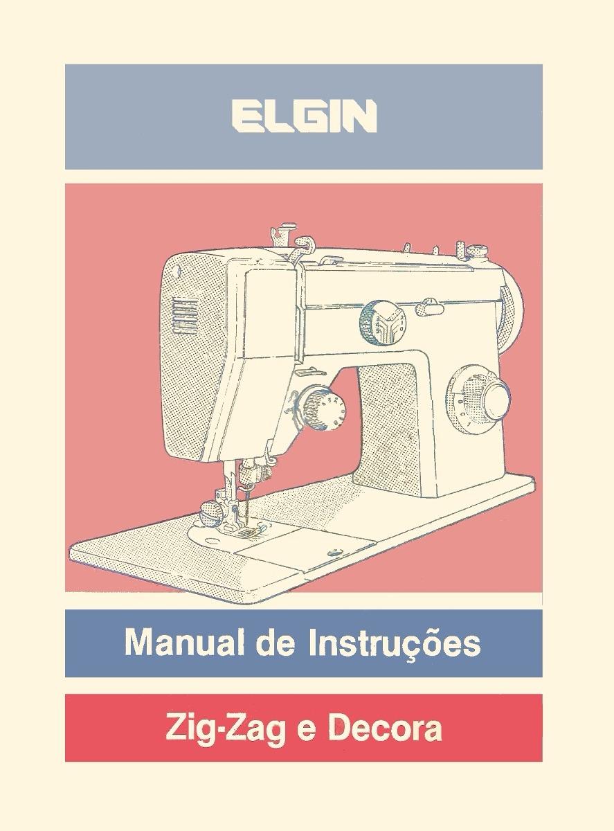 ... Array - manual m quina elgin zig zag e decora r 2190 em mercado livre  rh ...