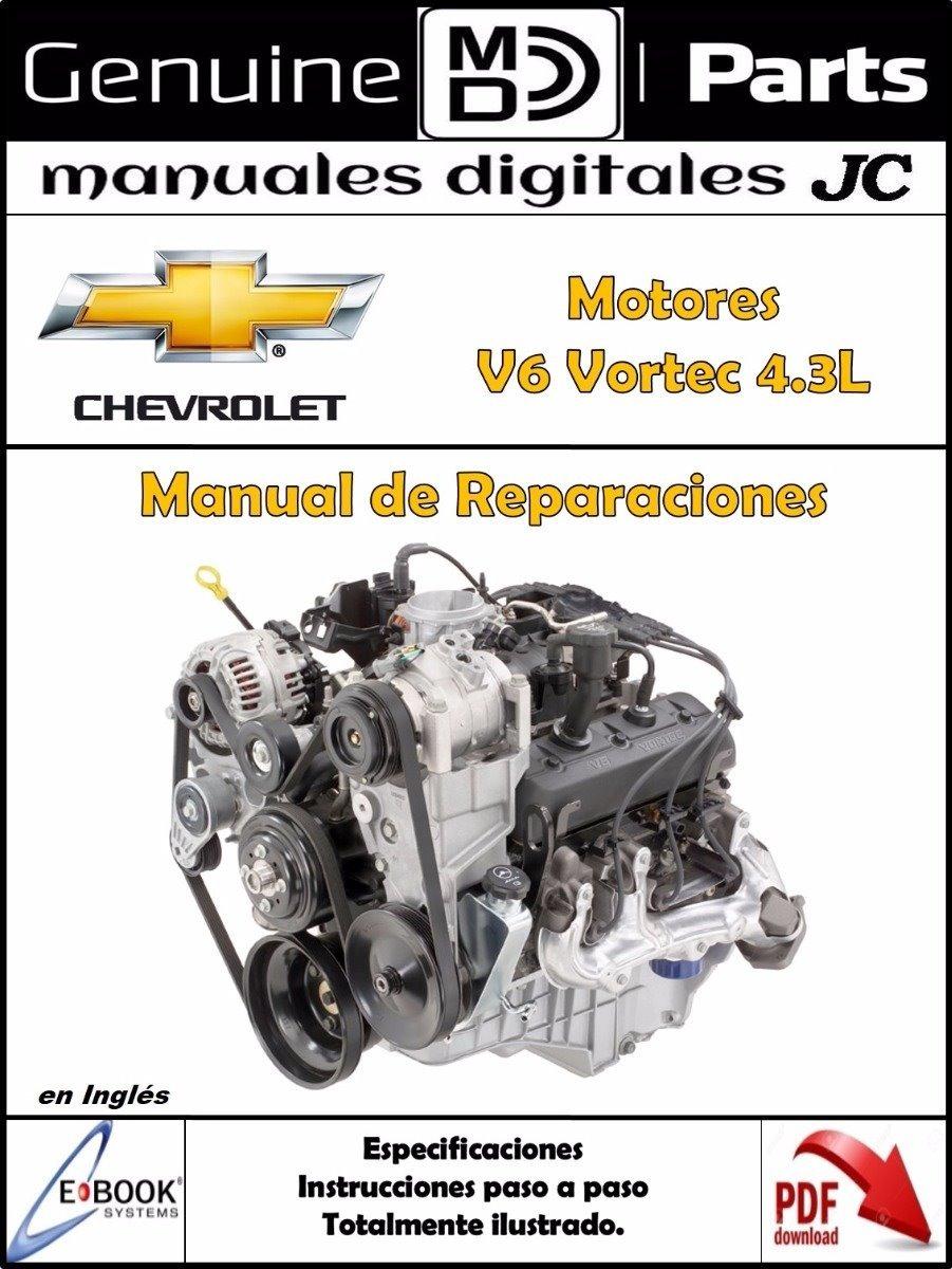 4 3l V6 Vortec Engine Part Diagram
