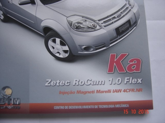 Manual Mecanica  Ford Ka Zetec Rocam