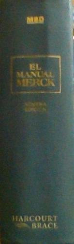 manual merck de diagnóstico y terapeútica - usado 9ª ed