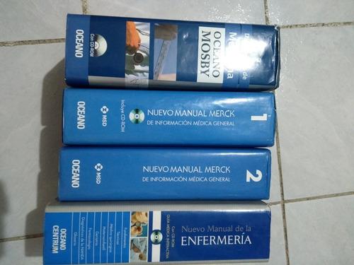 manual merk., diccionario de medicina, manual de enfermería
