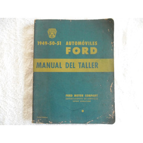 Manual Montagem Automóvel Ford 1949 / 50 / 51
