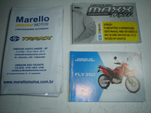 manual moto fly 250 2015 2016 2017 orignal traxx motocicleta r rh produto mercadolivre com br manual da transpaleteira pe500 crown manual data collection