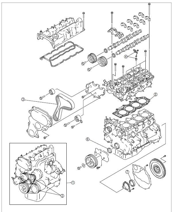 manual motor 2 5 y 2 5 l ford ranger y mazda bt 50   5