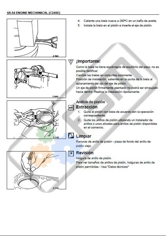 manual motor chevrolet luv dmax 2 4 diagrama electrico isuzu 80 rh articulo mercadolibre com ar 1980 Chevrolet Luv 1978 Chevrolet Luv