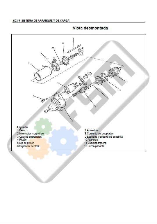 manual motor chevrolet luv dmax 2 4 diagrama electrico isuzu rh articulo mercadolibre cl 1980 Chevrolet Luv Chevrolet Luv Pick Up