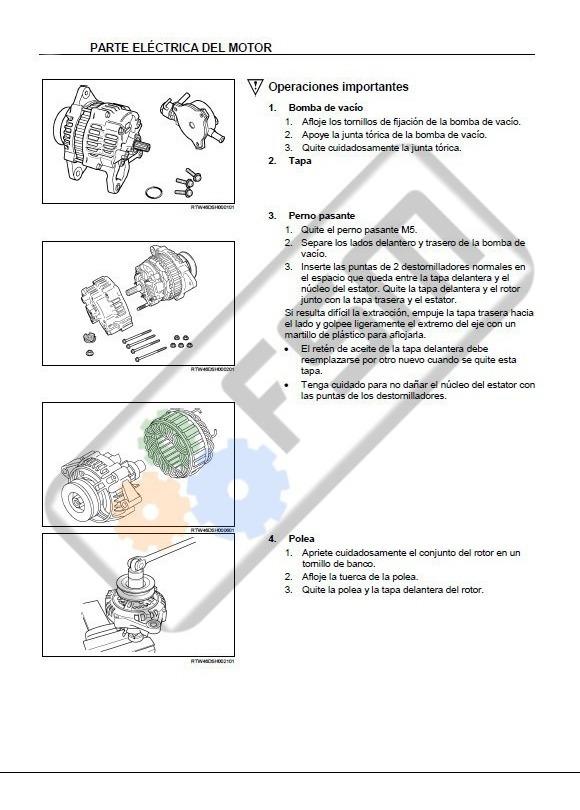 Manual Motor Chevrolet Luv Dmax Diesel 2 5 3 0 Diagrama