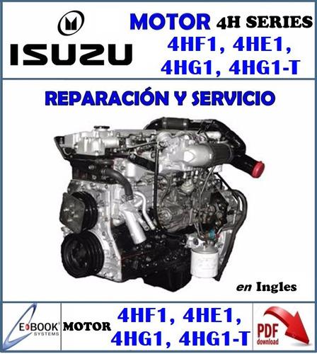 manual motor isuzu npr nkr encava 4hf1 4hg1 4he1-tc 4hg1-t