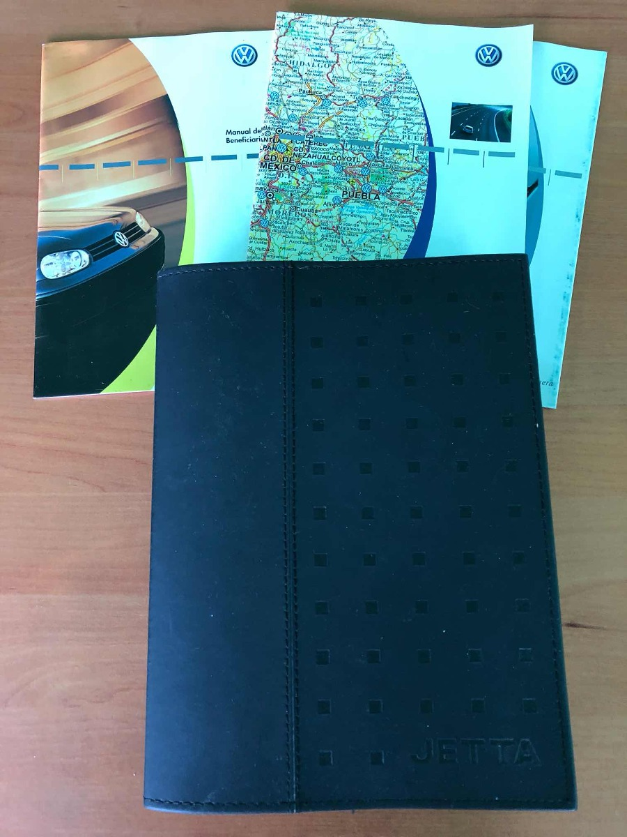 Manual O Instructivos Carnet Servicio Jetta A4 Original