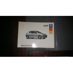 Manual Original Automovil Peugeot 206