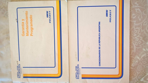 manual original de guantera fiat spazio