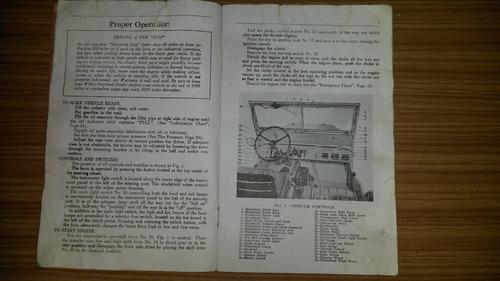 manual original de jeep willys-overland en ingles