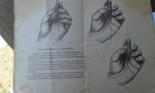 manual original de maquina de coser singer