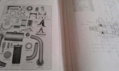 manual original de uso y despiece: tractor nuevo centenario