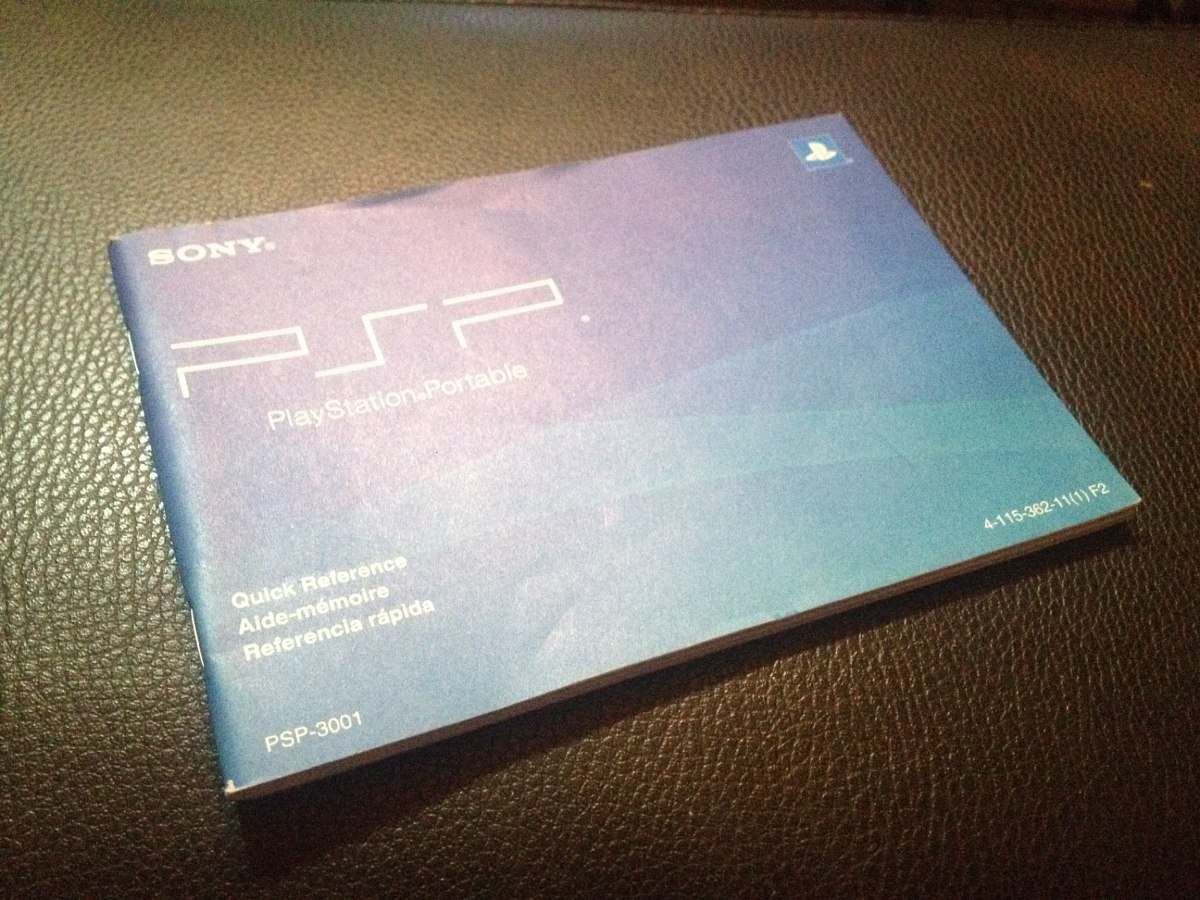 manual original del psp. Cargando zoom.