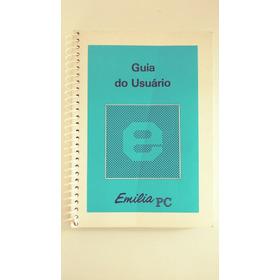 Manual Original Impressora Emilia Pc + Cartão De Comandos