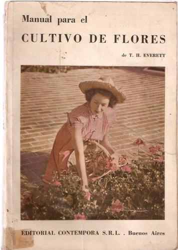 manual para el cultivo de flores  everett