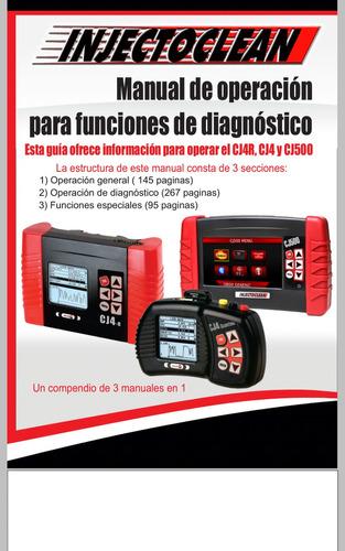 manual para funciones de diagnostico cj4