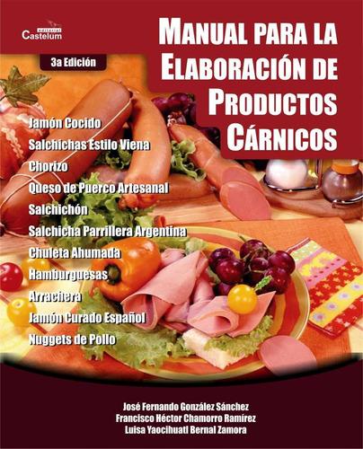 manual para la elaboración de productos cárnicos - digital