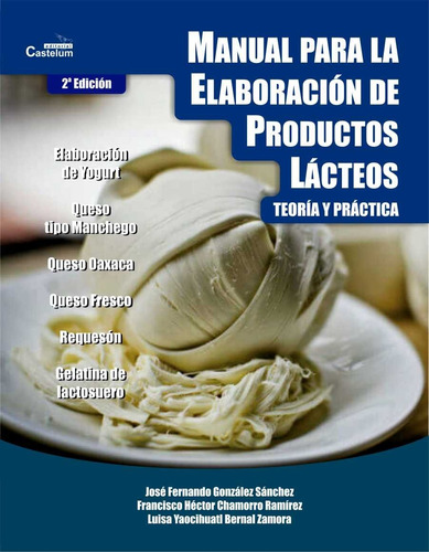 manual para la elaboración de productos lácteos - digital