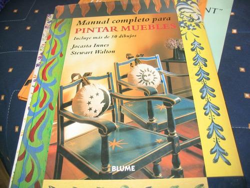 manual para pintar muebles