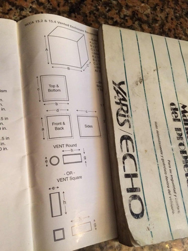 manual para subwoofer orion hcca