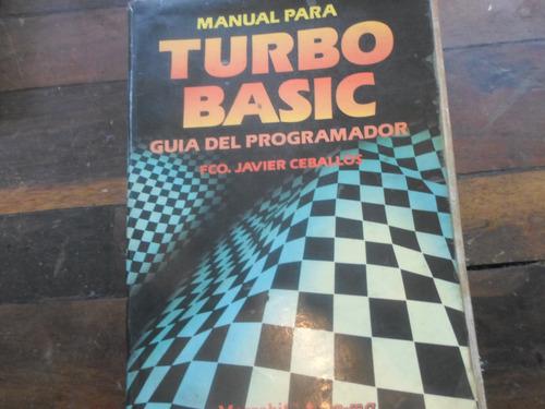 manual para turbo basic guía del programador fco j. ceballos