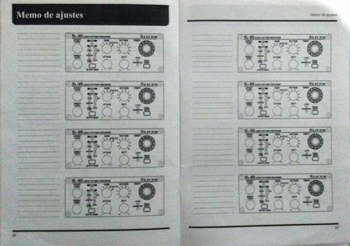 manual pedal boss slicer sl pedaleira original livro técnico