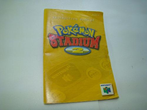 manual pokemon stadium 2 nintendo 64,nes,snes,psp,ps4,xbox