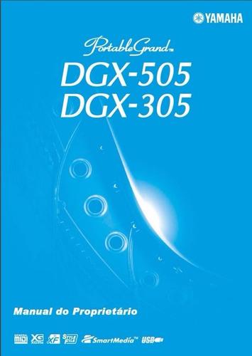 manual portugues teclado yamaha dgx 305 / 505 - pdf