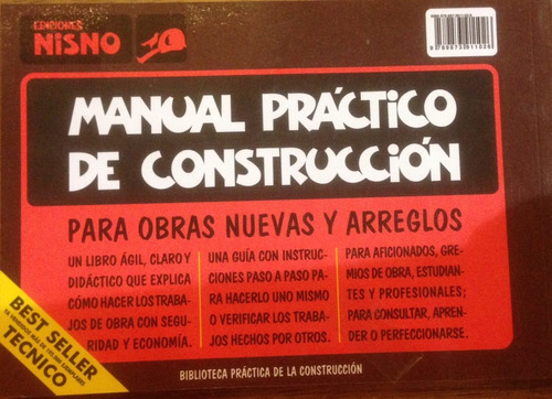 manual práctico de construcción - jaime nisnovich