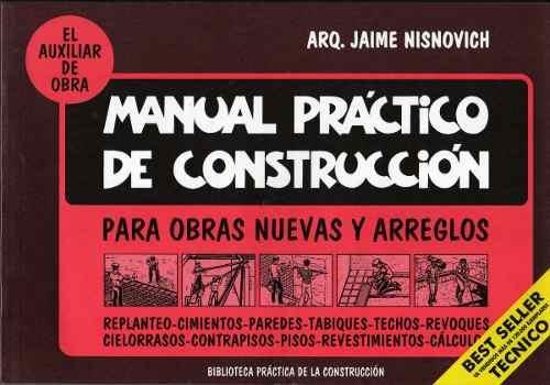 manual practico de construccion - jaime nisnovich