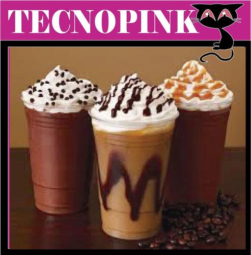 manual preparación café, cafeteria, donas, smoothies, postre