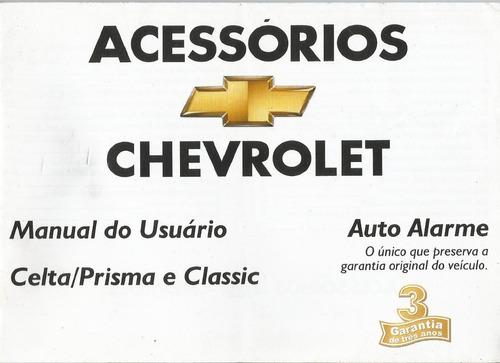 manual proprietário celta 2008 2009 c/suplementos e bolsinha