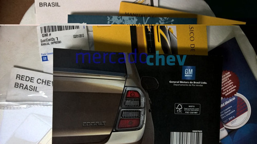 manual proprietario cobalt chevrolet novo original em branco